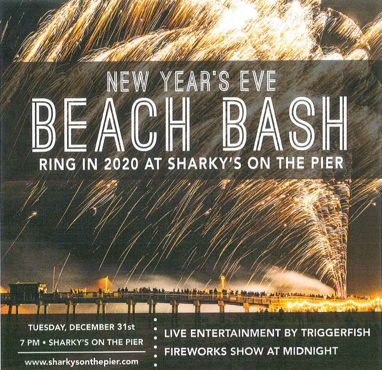 Ring in the New Year at the Pier!