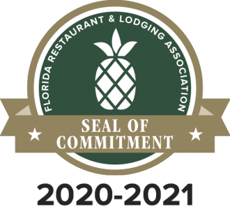 Sharky's on the Pier, Fins at Sharky's and Snook Haven Awarded FRLA Seal of Commitment