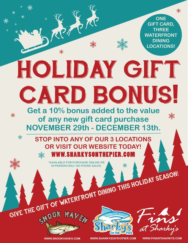 2019 Holiday Gift Card Promo 2