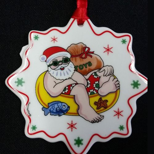 Sharky's Christmas Ornament