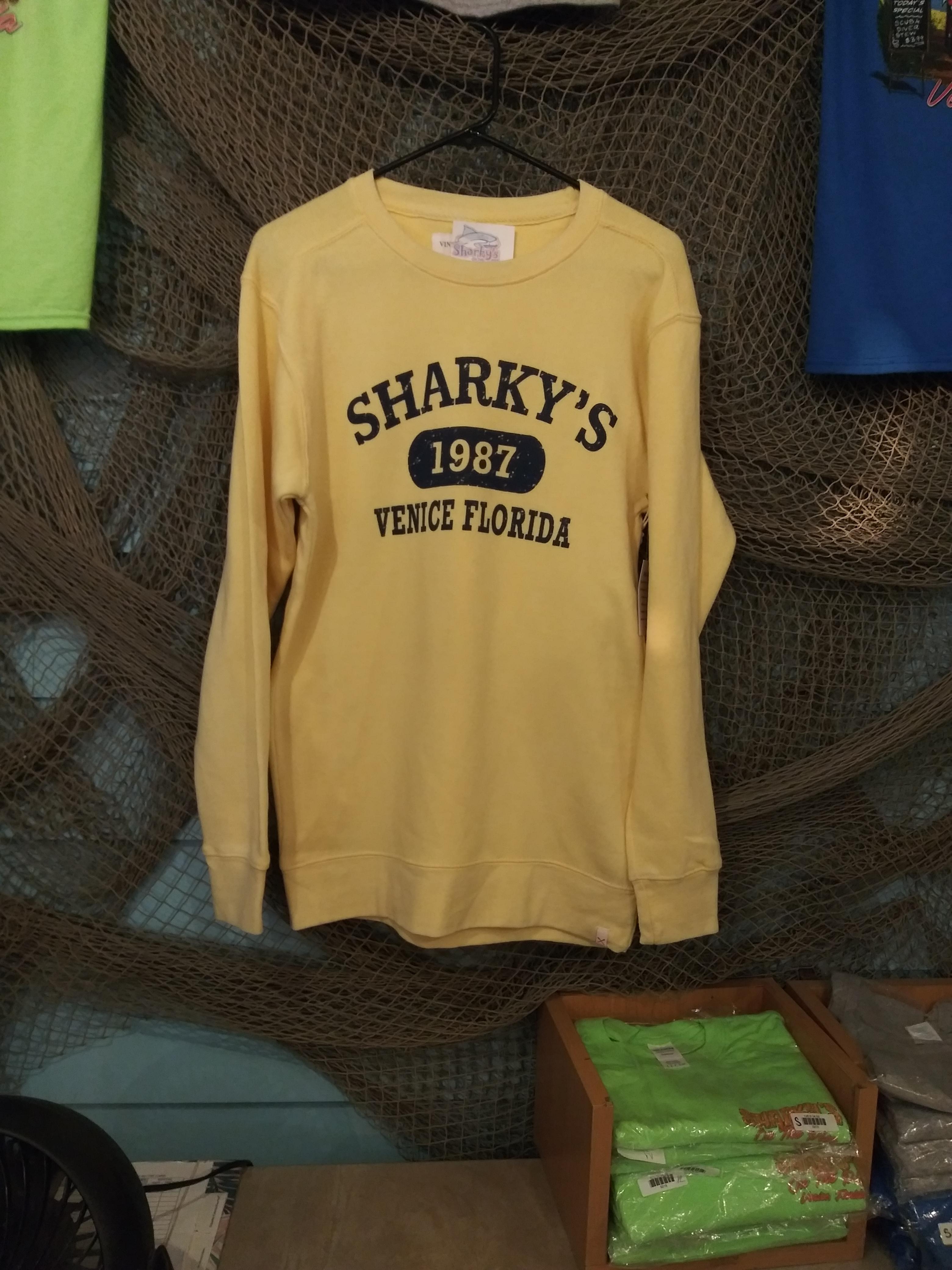 B Sweatshirt Butter Yellow