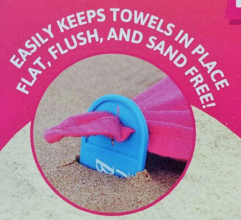 Beachies! Towel Holders