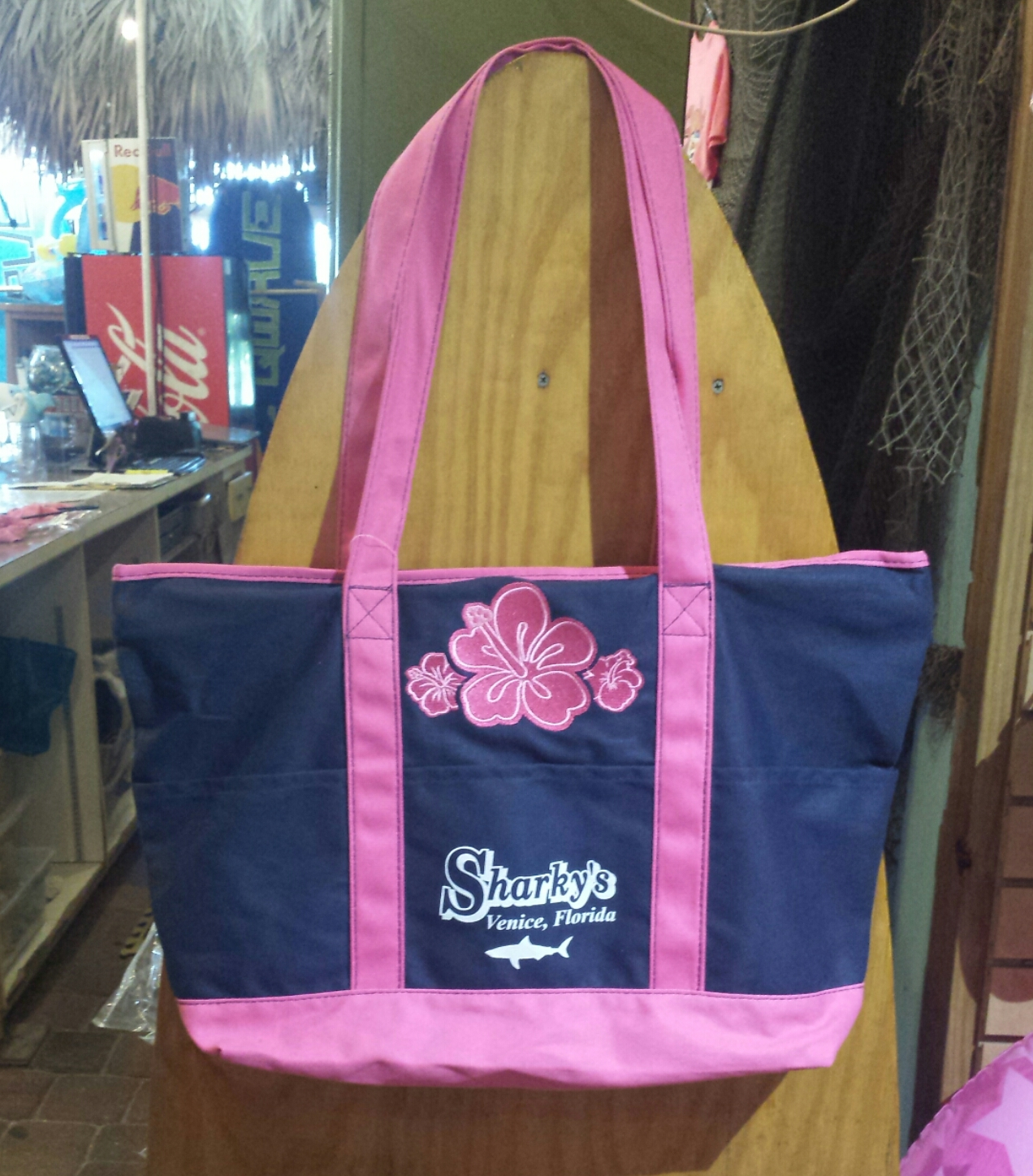Pink Beach Tote