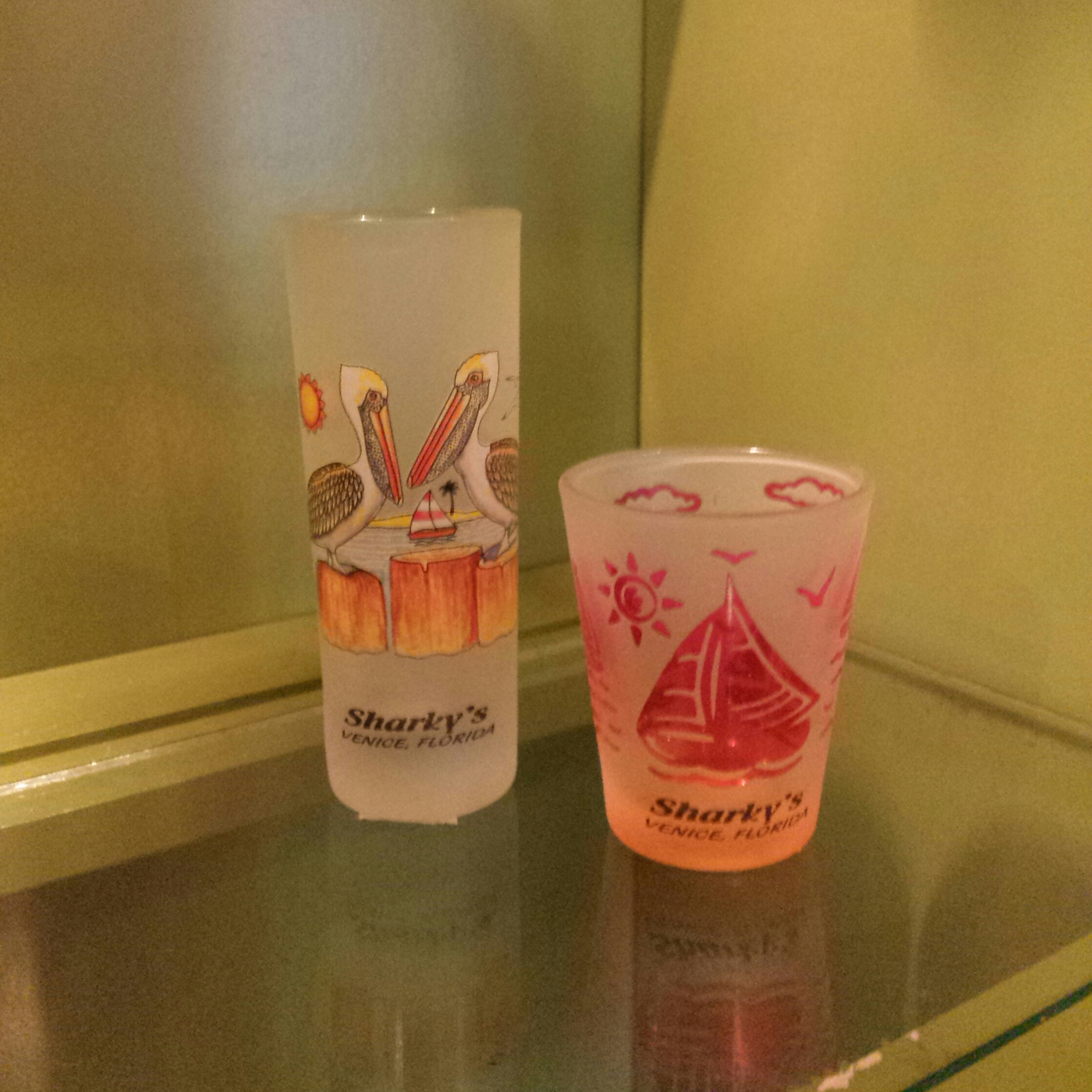 Shot Glasses 5.99-6.99
