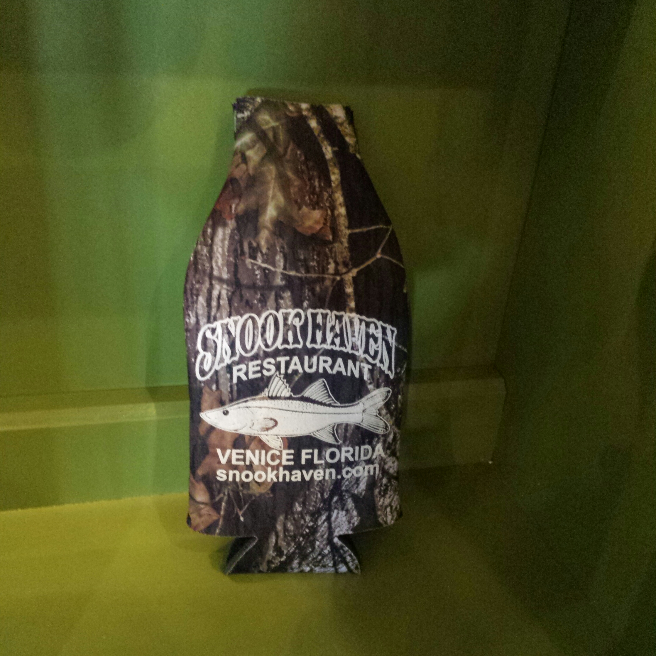 Snook Camo Bottle Holder