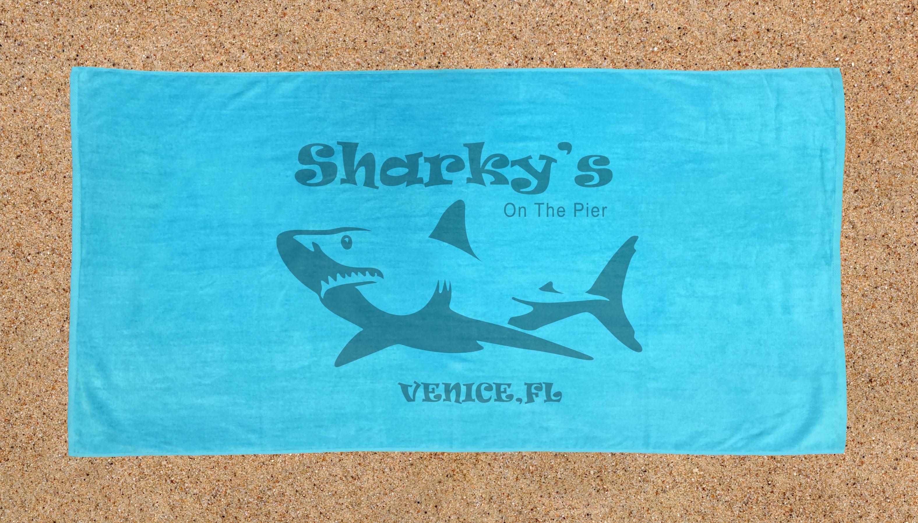 Sharky's Beach Towel