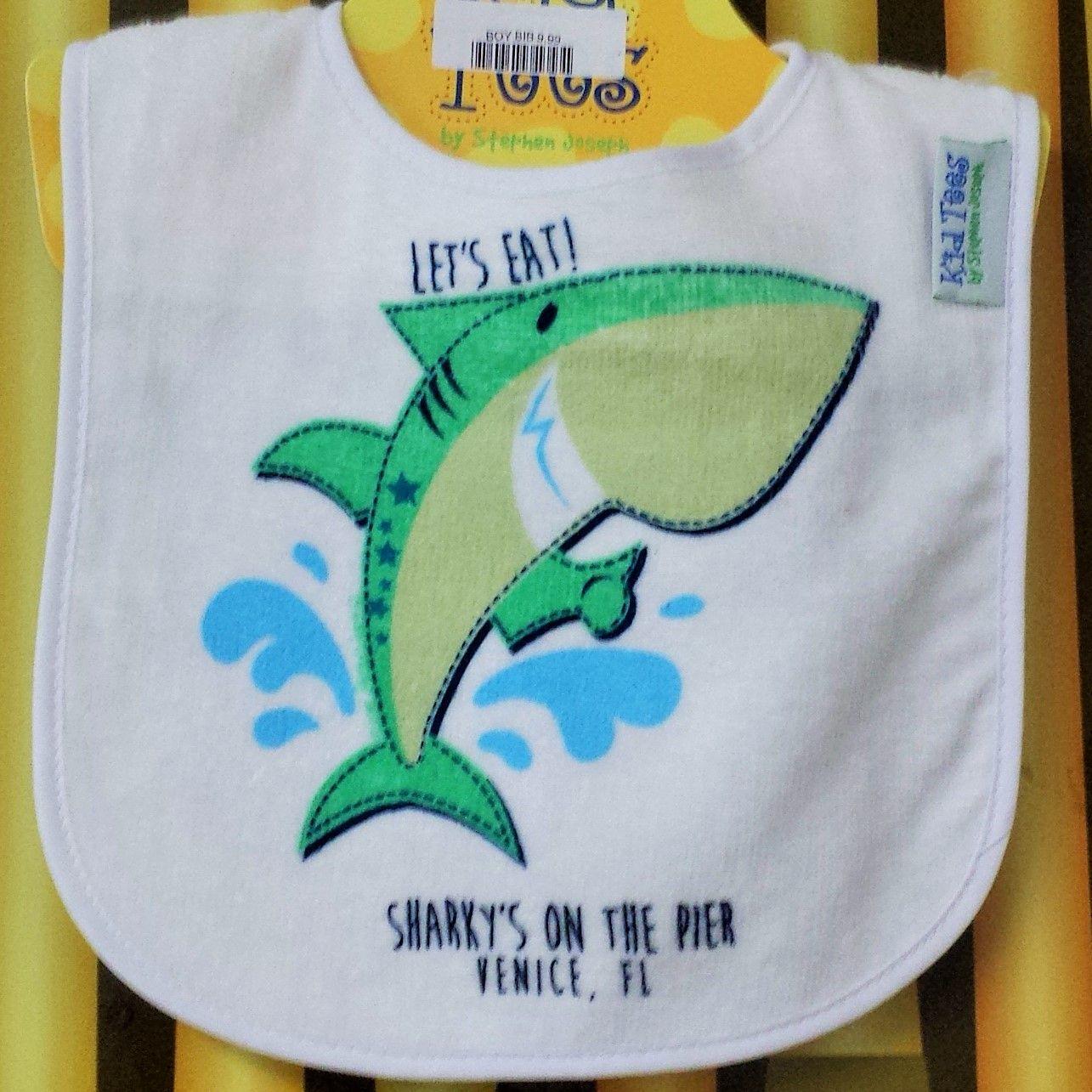 Sharky's Shark Bib