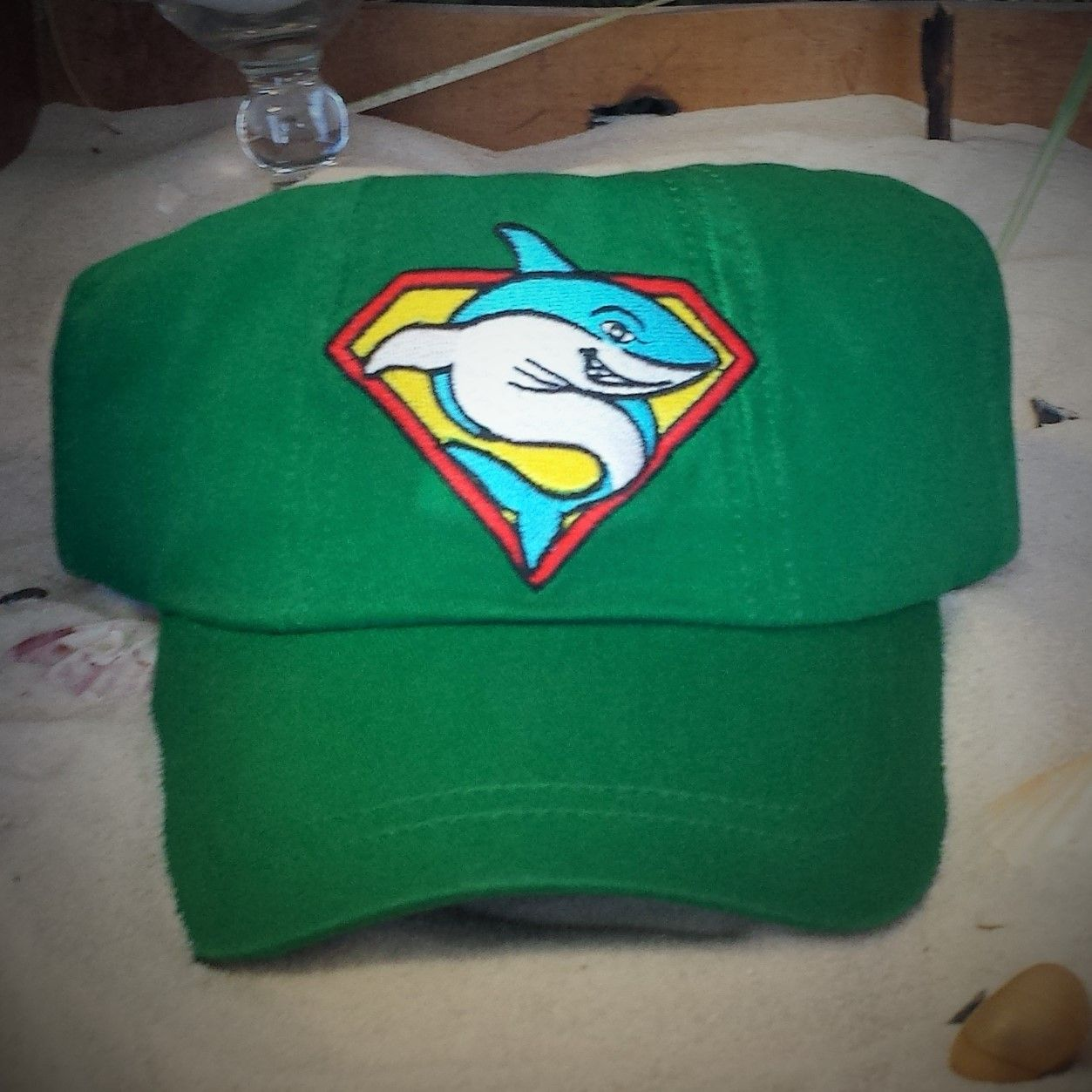 Toddler Super Shark Cap