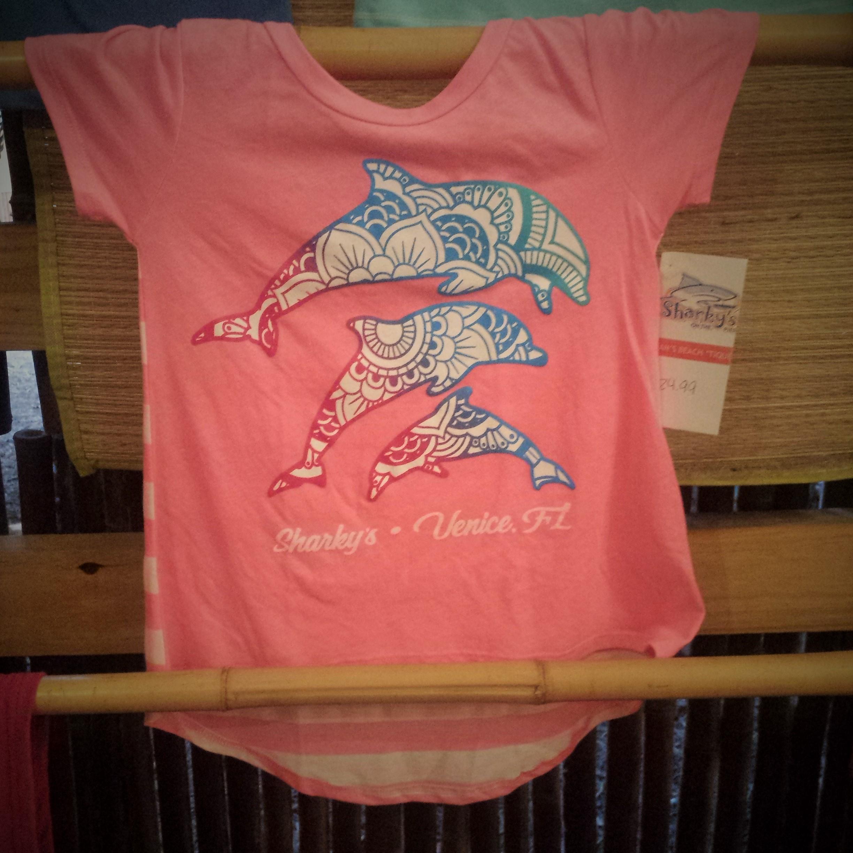 Children's dolphin T