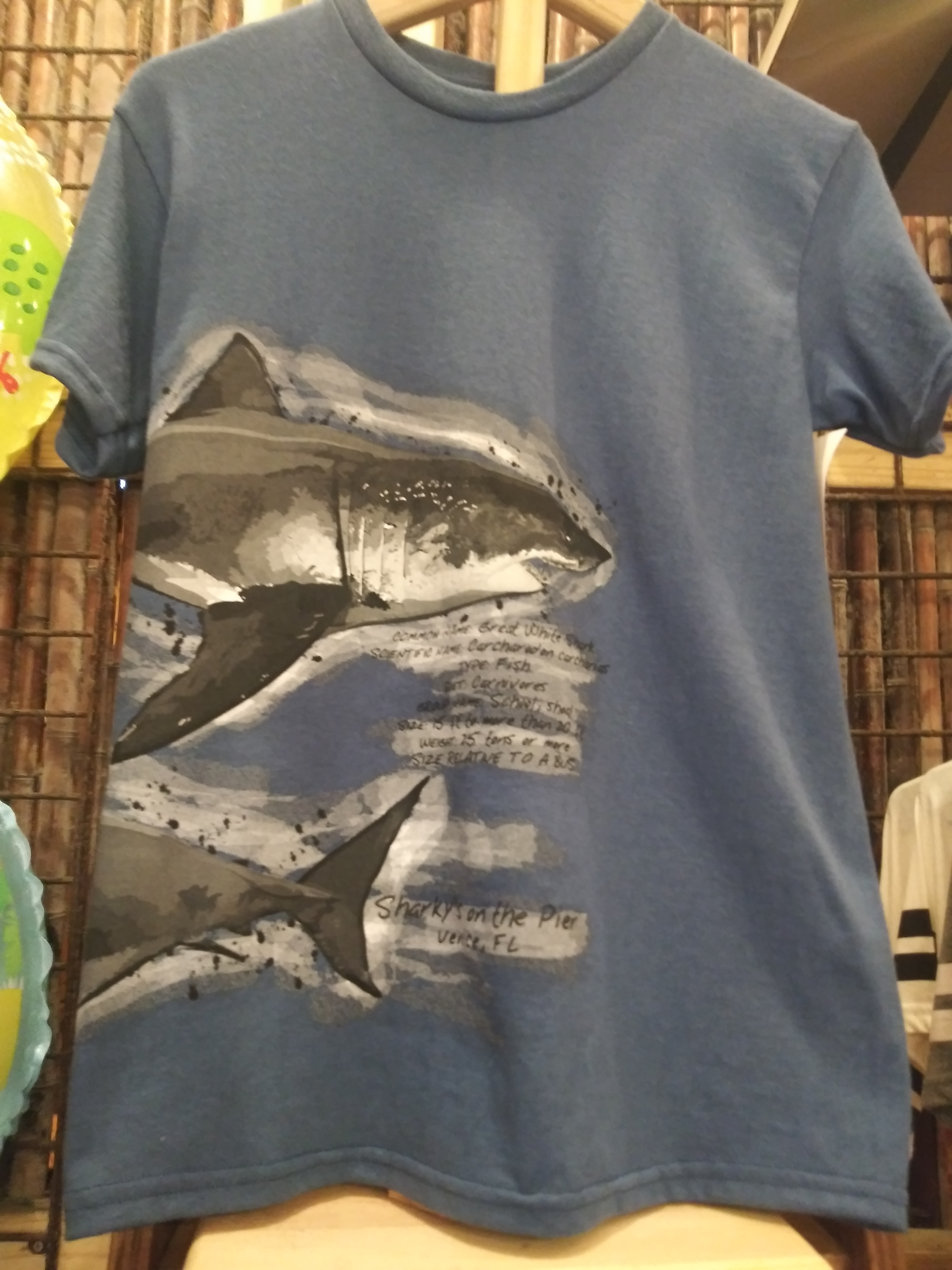 Shark Facts Youth T