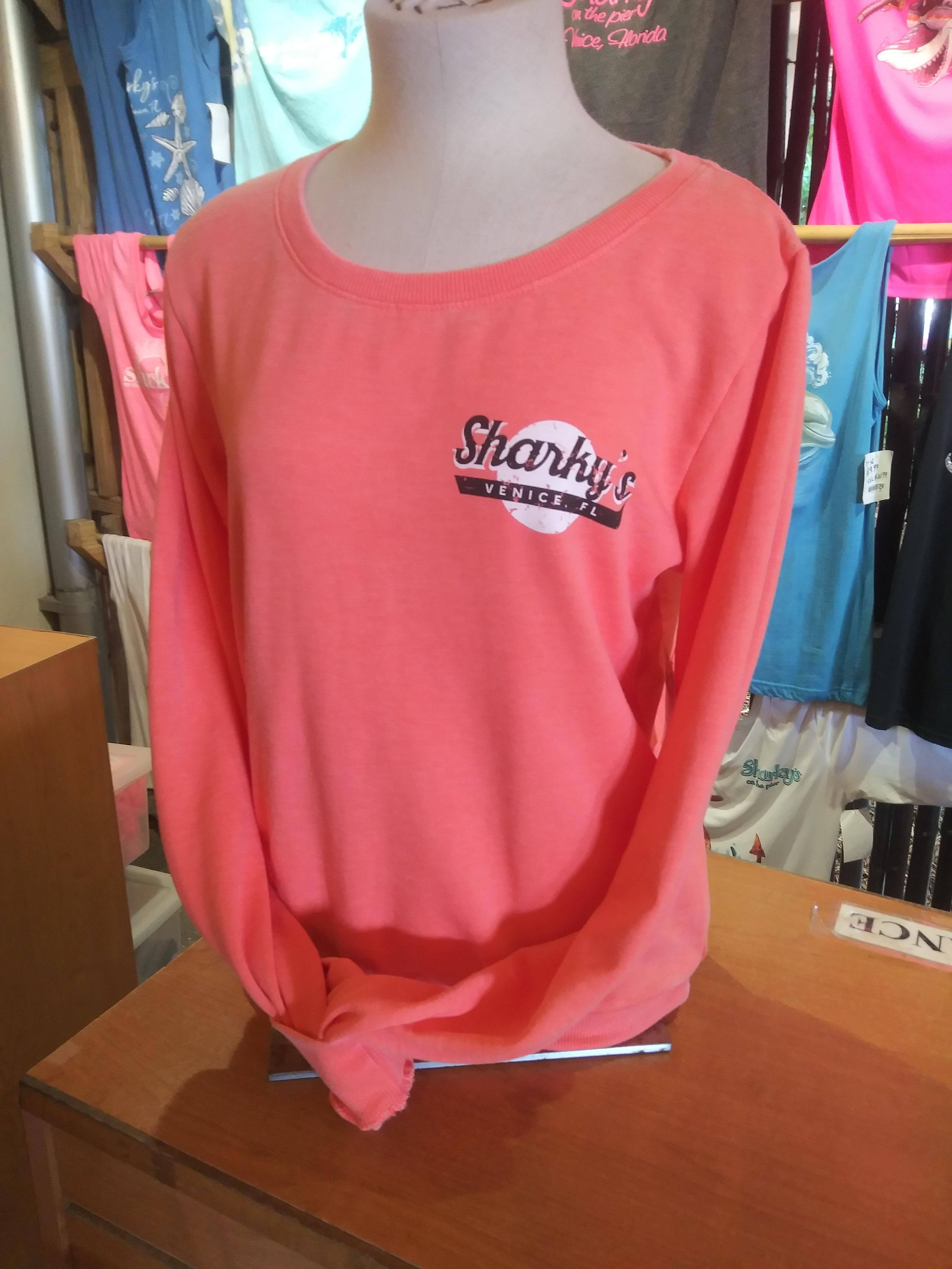 Coral Sweatshirt
