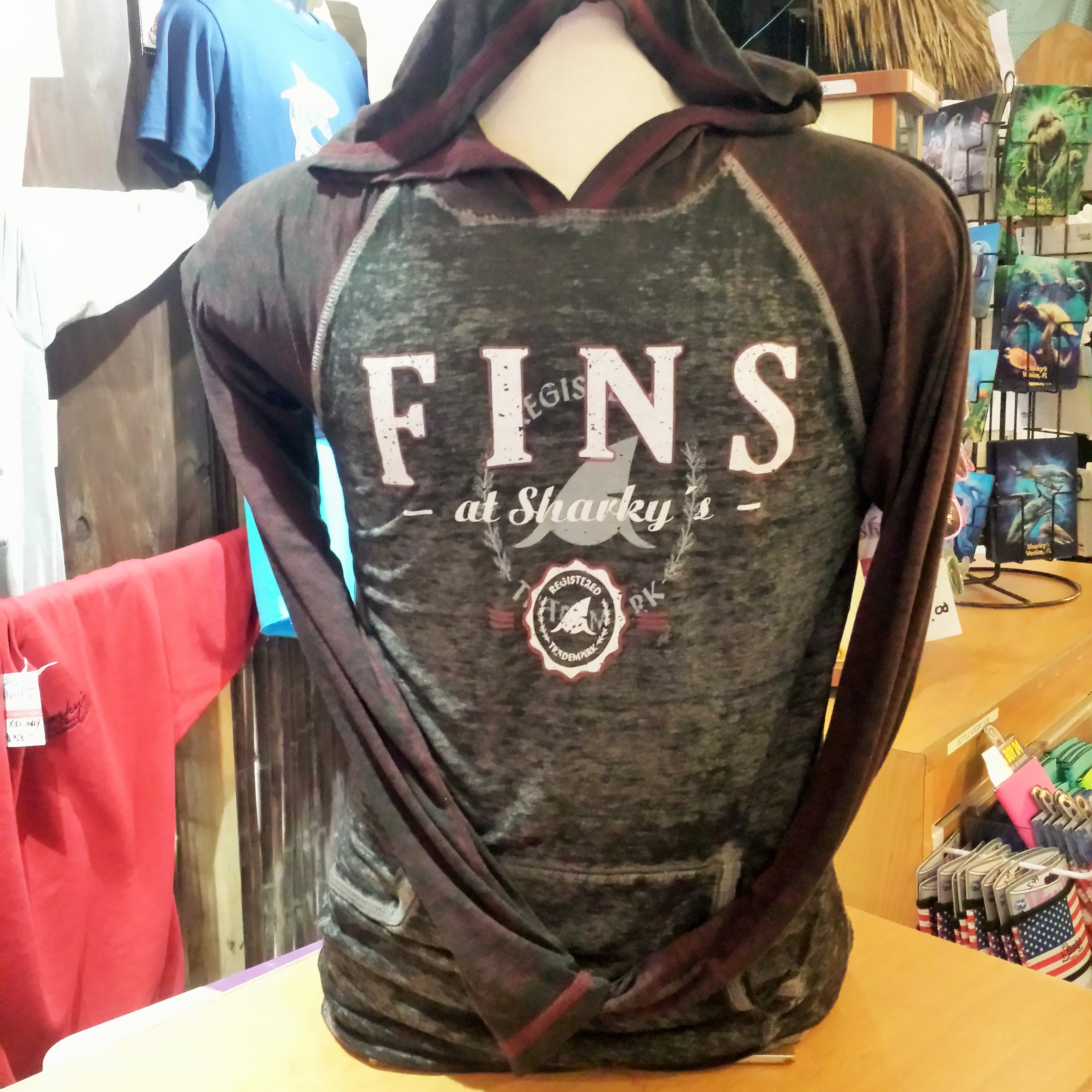 Fin's Hooded Pullover