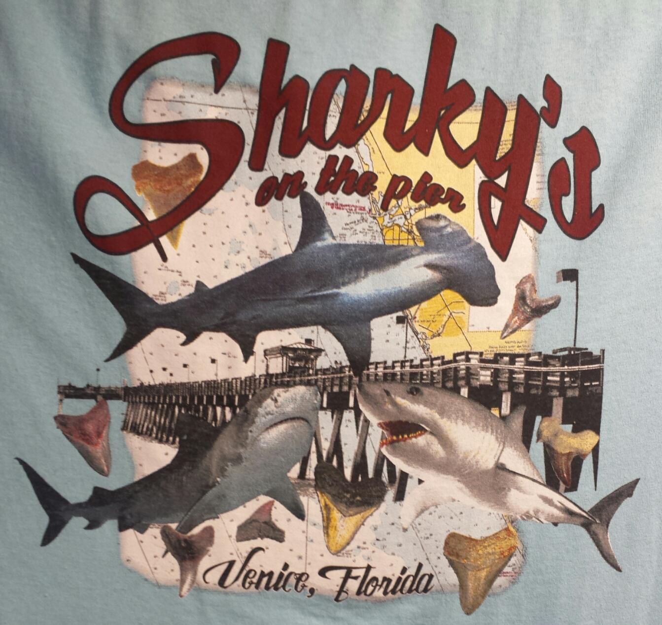 Blue Shark Shirt