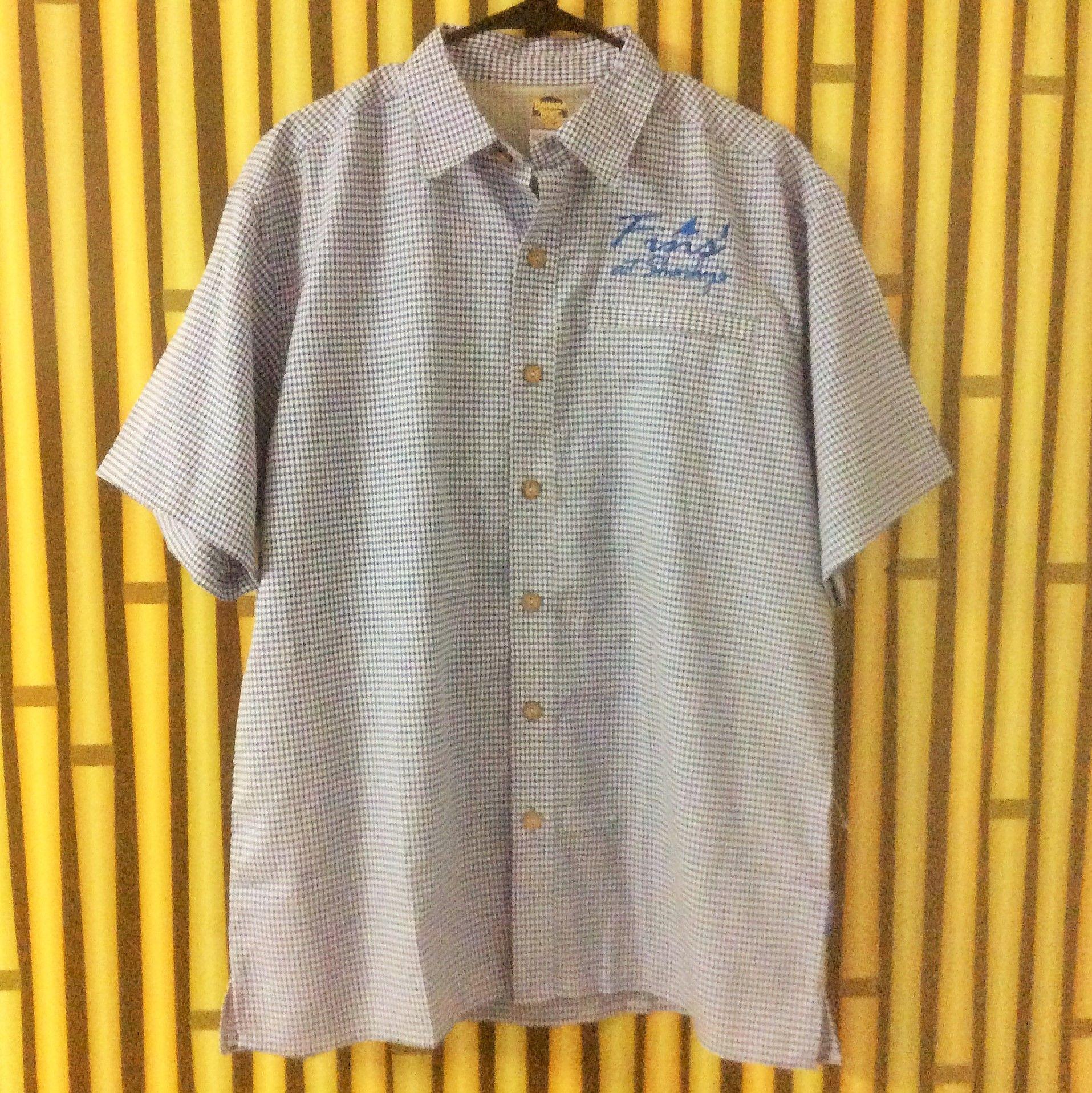 Plaid Fishing Shirt