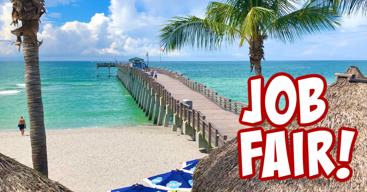 Sharkys Job Fair Facebook Event Cover
